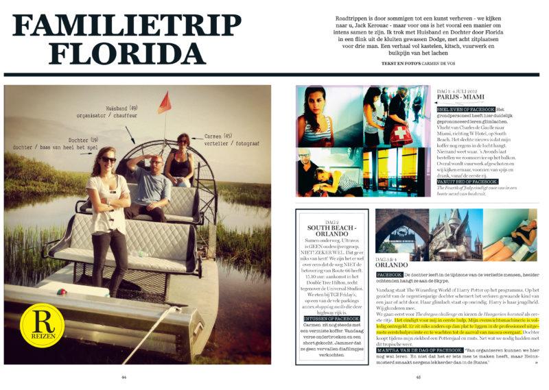 12 dSMagazine FAMILIETRIPFLORIDA cover