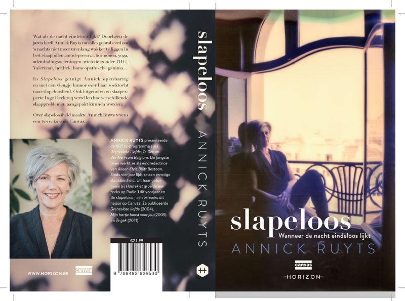 Slapeloos by Annick Ruyts