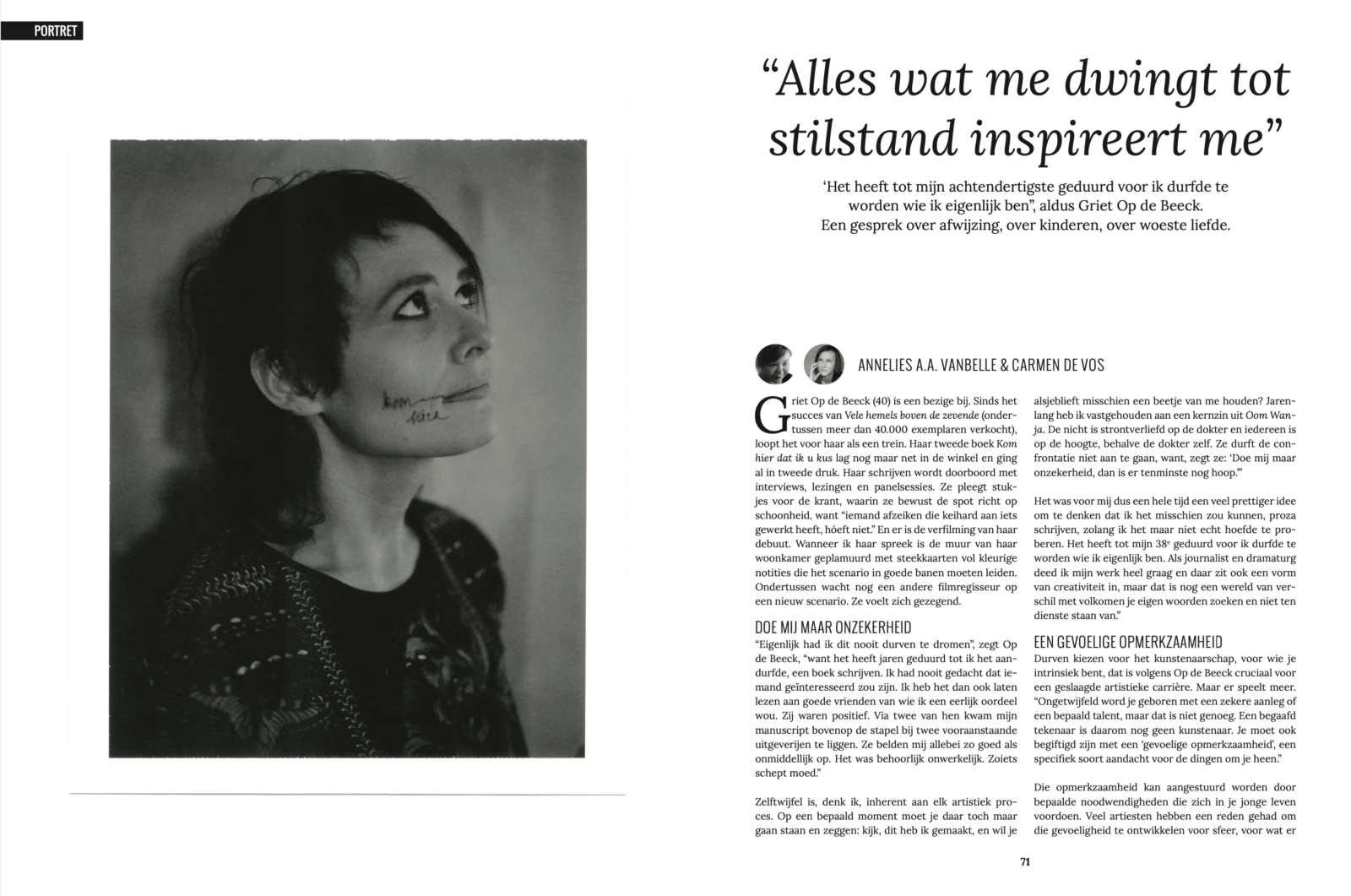 GrietOpdeBeeck CharlieMagazine